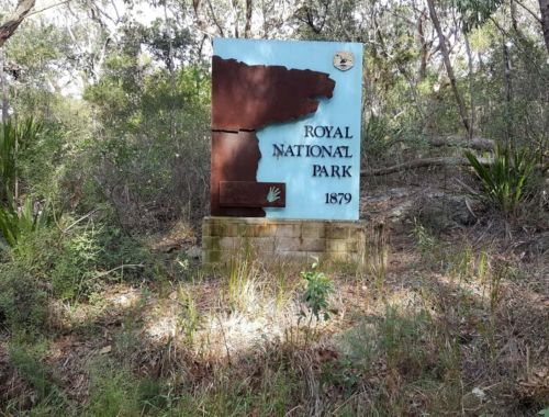 Trike Trips - Royal National Park Sign